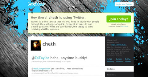 Best Designed Twitter Homepages