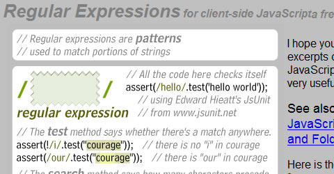 Check if a string contains a match to a regular expression