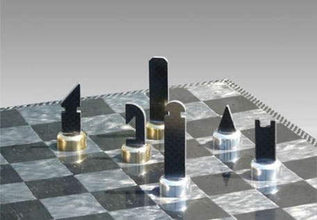 Bad-Ass Chess Sets