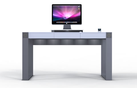 Apple Computer Desk