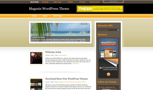 magasin wp theme