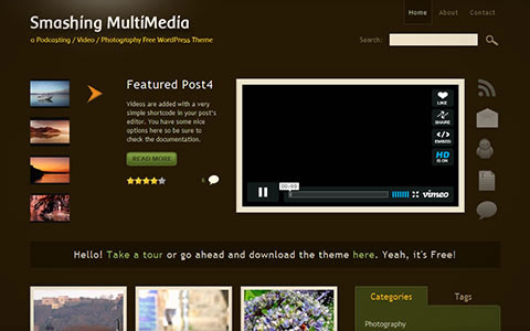 45+ Excellent Fresh Free WordPress Themes Around