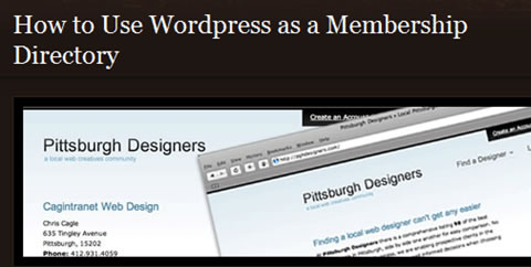 15 Unconventional Uses of WordPress in Action