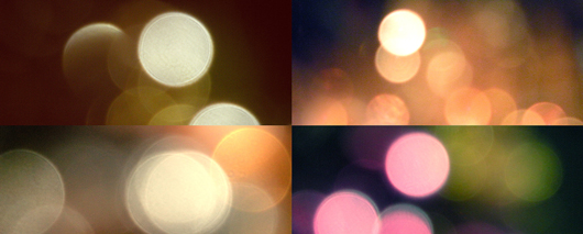 bokeh  textures