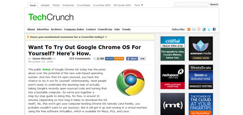 Want To Try Out Google Chrome OS For Yourself? Here's How...