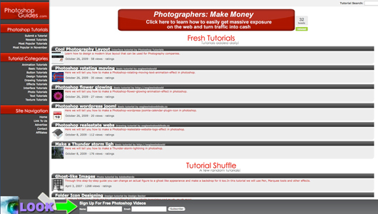 photoshop guides