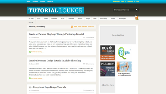 tutorial lounge screenshot