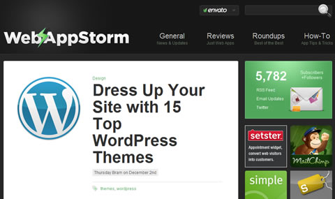 Dress Up Your Site with 15 Top WordPress Themes