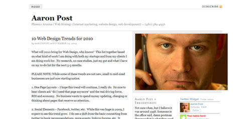 Web Design Trends and Resolutions