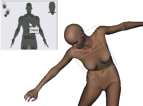 how to create a human figure in blender