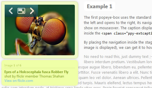 jQuery.popeye 2.0 - an inline lightbox alternative
