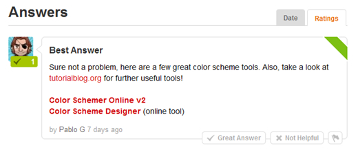 Could you refer me to the best color scheme tools?