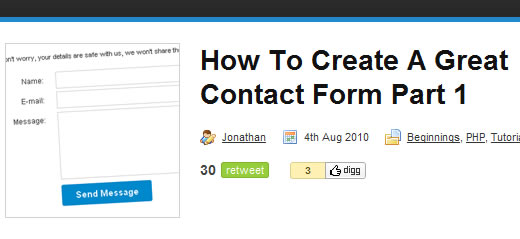 How To Create A Great Contact Form
