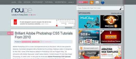 Brilliant Adobe Photoshop CS5 Tutorials From 2010
