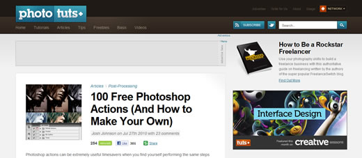 100 Free Photoshop Actions (And How to Make Your Own)