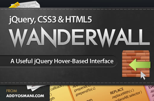 A jQuery, CSS3 & HTML5 Hover-Based Interface