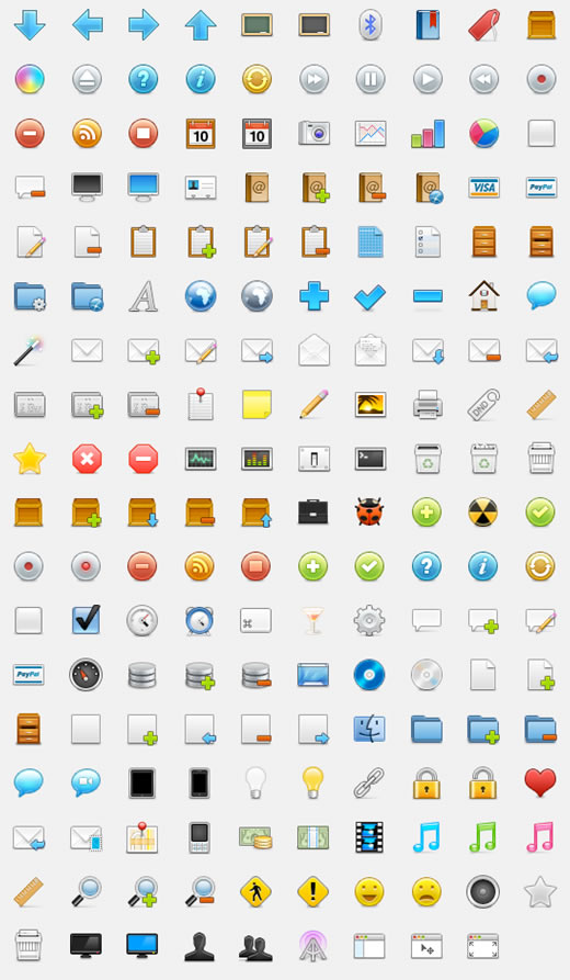 WooCons - 170 Free Web Icons