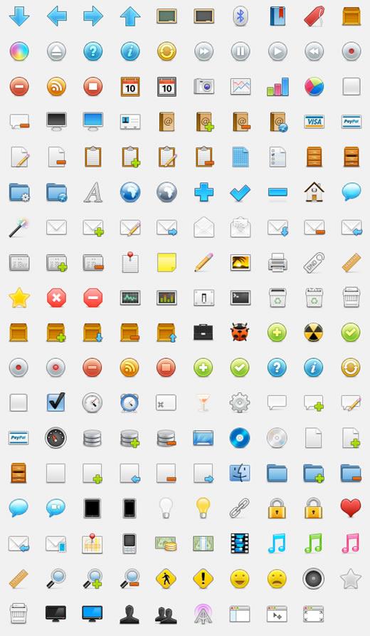 WooCons - 170 Free Web Icons