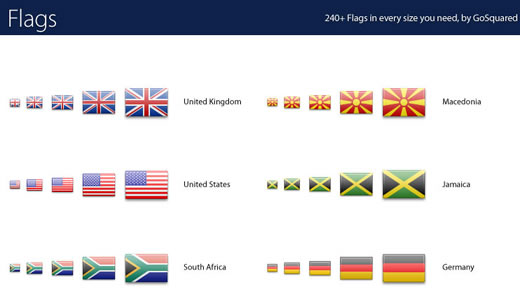 2400 Flag Icon Set