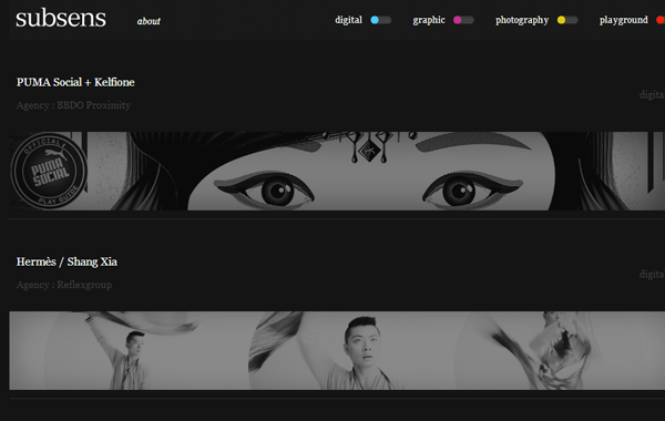 02-subsens-website-dark-themed-interface