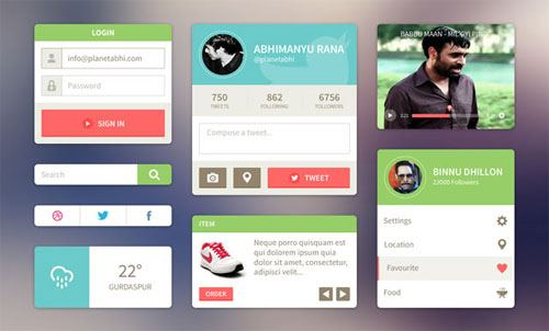 free-flat-user-interface-templates-22