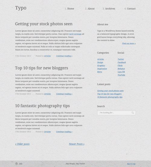 typo-wordpress-theme-sm
