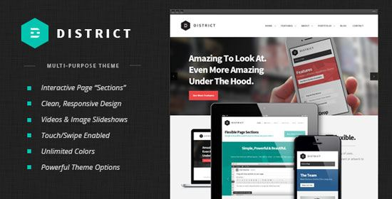 wordpress-theme-District