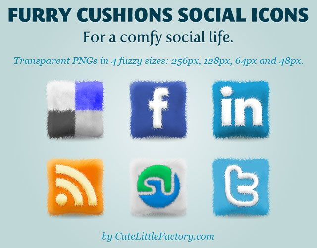 Furry-Cushions-Icons