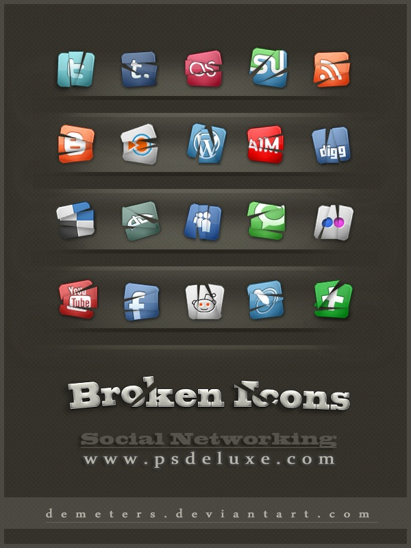 social_networking_broken_icons_by_demeters-d3712v9