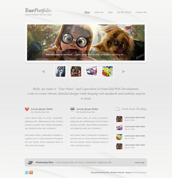 0159-02_clean_style_portfolio_layout