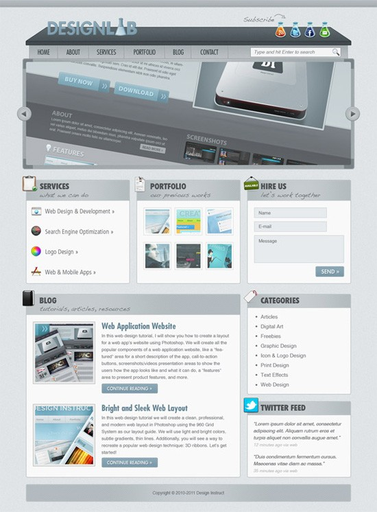 0159-10_lab_theme_webdesign_photoshop