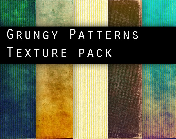 GRUNGY_PATTERNS_texture_pack_by_Knald