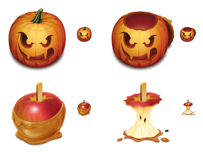 apple halloween