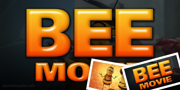 Bee Movie' Text Effect