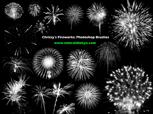 Chrissy__s_Firework_PS_Brushes_by_EmeraldTokyo