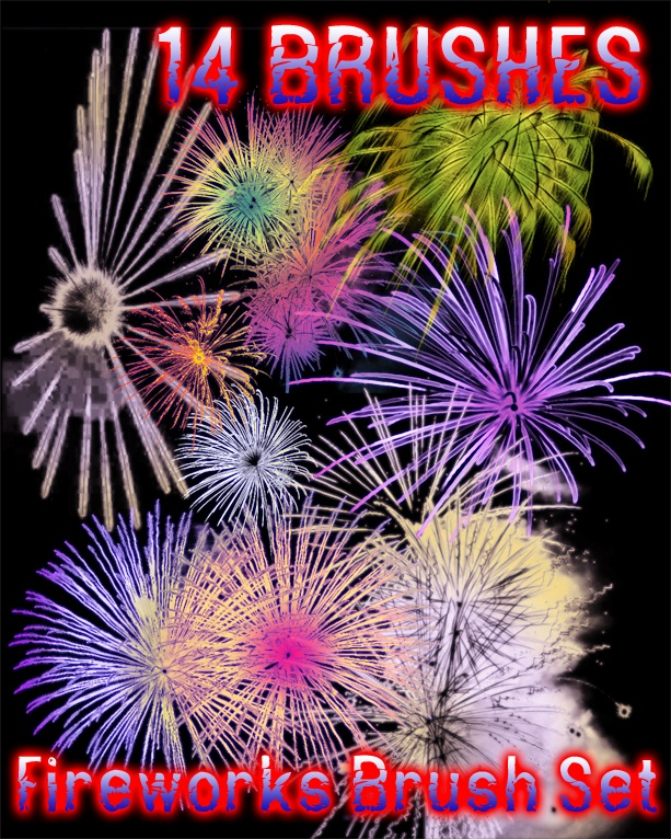 Fireworks_Brushes_by_dslmwgraves