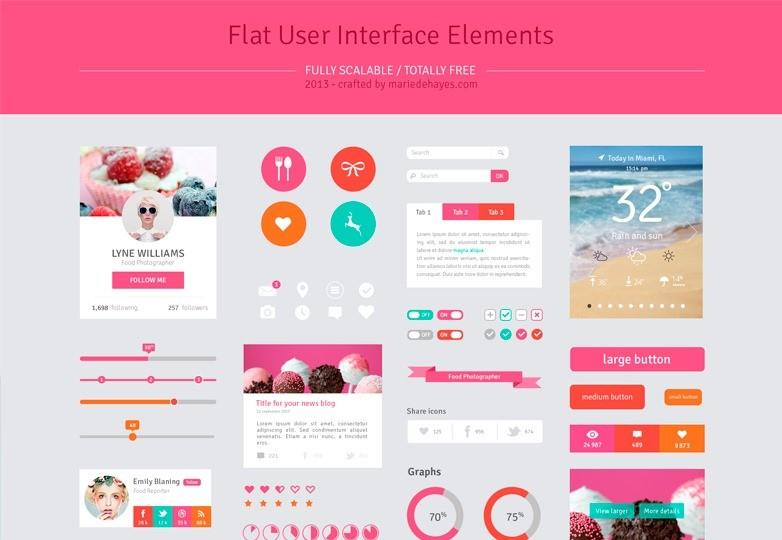 Flat-UI-elements