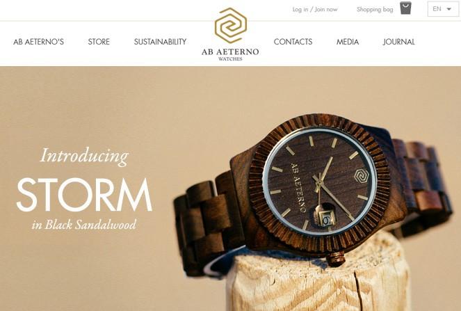 Ab Aeterno - eCommerce Inspiration