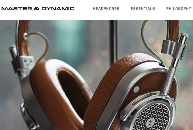 Master & Dynamic - eCommerce Inspiration