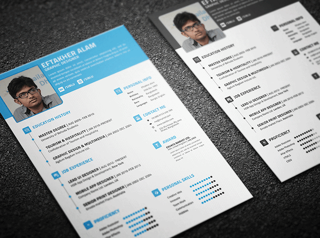 10  amazing design resume templates that will surely get