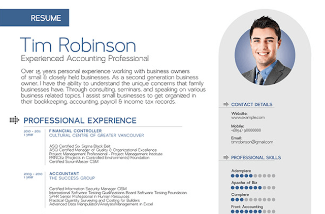 10+ Amazing Design Resume Templates That Will Surely Get You An
