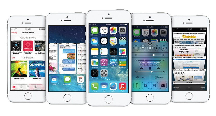 IOS 7 Update Writes History